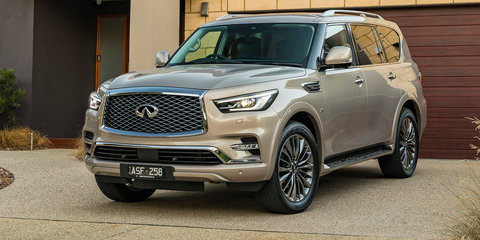 2018 Infiniti QX80 pricing and specs