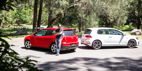 Volkswagen Golf GTI Old v New: 2018 MkVII v 2007 MkV comparison