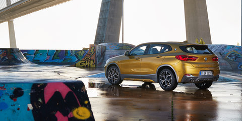 BMW X2: sDrive18i and xDrive20d join local range