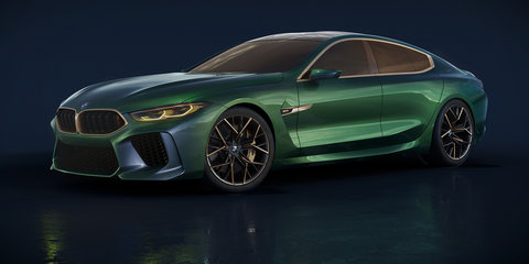 BMW M8 Gran Coupe concept revealed in Geneva