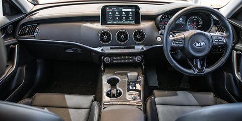 2018 Kia Stinger 330Si v Holden Commodore VXR comparison