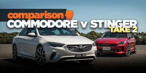 2018 Kia Stinger v 2018 Holden Commodore