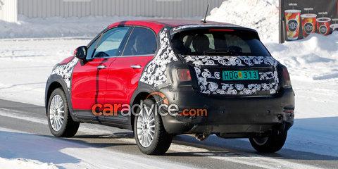 2019 Fiat 500X spied