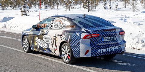 2019 Ford Focus sedan spied