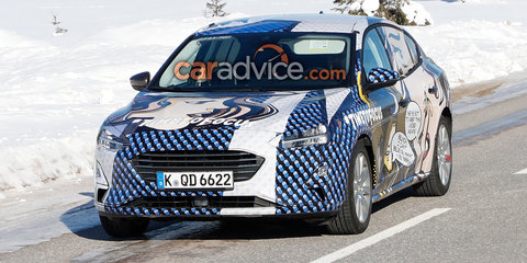 2019 Ford Focus sedan spied