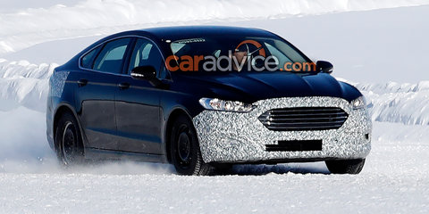 2019 Ford Mondeo spied