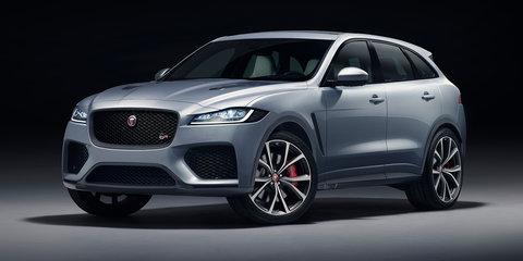 2019 Jaguar F-Pace SVR revealed - UPDATE