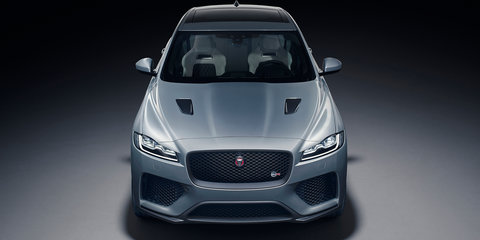 Jaguar teases F-Pace SVR exhaust note – Video