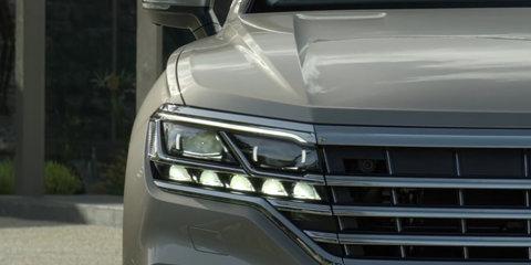 2019 Volkswagen Touareg teased