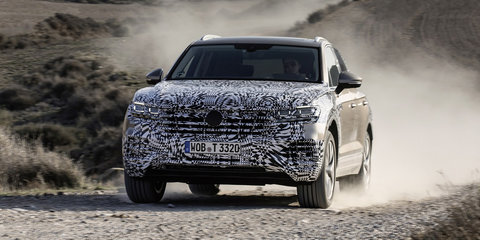 2019 Volkswagen Touareg teased again - VIDEO