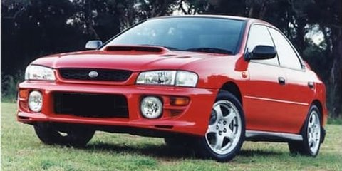 1999 Subaru Impreza WRX (AWD) review