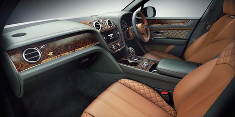 Bentayga by Mulliner, Inspired by The Festival revealed