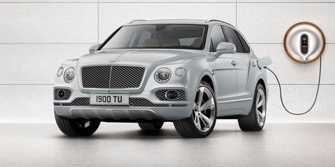 2018 Bentley Bentayga Hybrid revealed