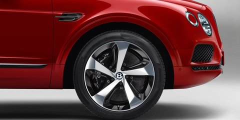 Bentley Bentayga V8 brakes are largest, most powerful on a series production car