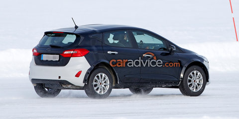 Ford 'Mini Bronco' SUV spied