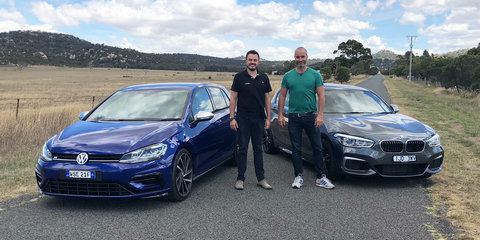 2018 BMW M140i v Volkswagen Golf R comparison
