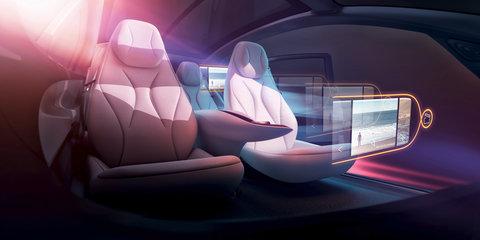 Volkswagen I.D. Vizzion concept revealed
