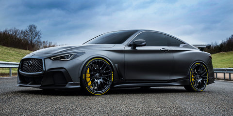 Infiniti Q60 Black S: Hardcore hybrid set for October reveal