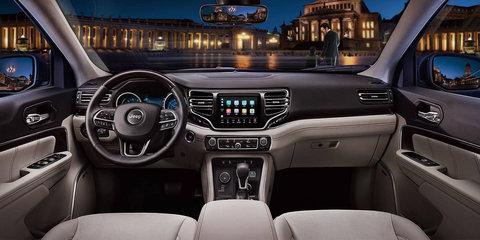 Jeep Grand Commander interior revealed