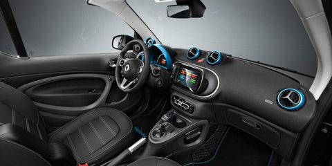 Smart EQ electric cars revealed