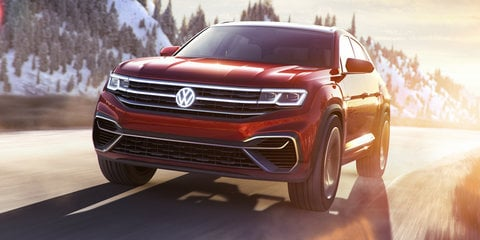 Volkswagen Atlas Cross Sport concept revealed
