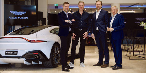 "Aston Martin seeing ""extraordinary swing"" toward female buyers"