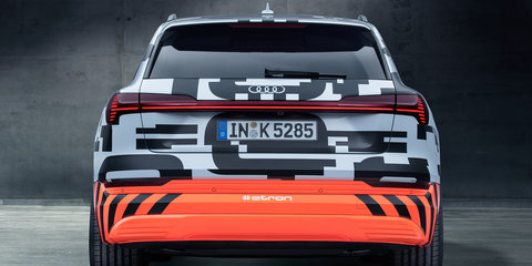 Audi e-tron prototype revealed