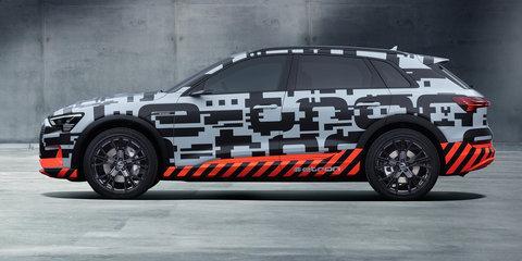 Audi e-tron prototype revealed