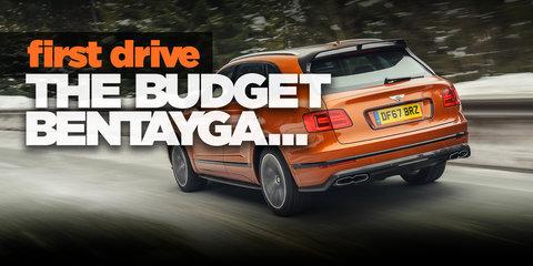 Bentley Bentayga gets a V8: The... affordable Bentayga?