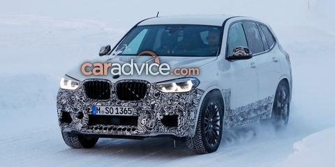 2019 BMW X3 M spied