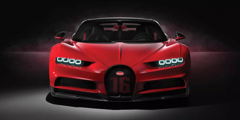 2018 Bugatti Chiron Sport revealed