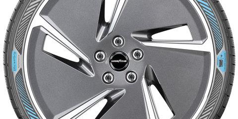 Goodyear reveals prototype EV tyres