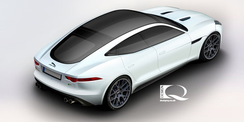 Jaguar F-Type four-door coupe high on Callum's list