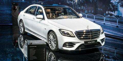 Mercedes-Benz reveals diesel plug-in hybrids