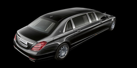 2018 Mercedes-Maybach Pullman unveiled