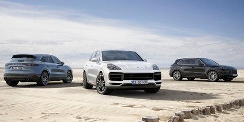 2018 Porsche Cayenne pricing and specs