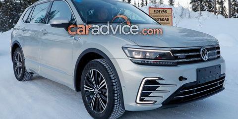Volkswagen Tiguan Allspace GTE spied