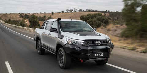 2018 Toyota HiLux Rugged, Rugged X and Rogue - image gallery