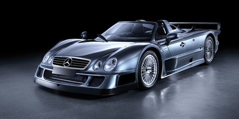 Mercedes-Benz CLK GTR remembered - Video