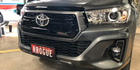 2018 Toyota HiLux Rogue, Rugged and Rugged X pricing and specifications