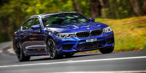 2018 BMW M5 takes on the Nurburgring - video