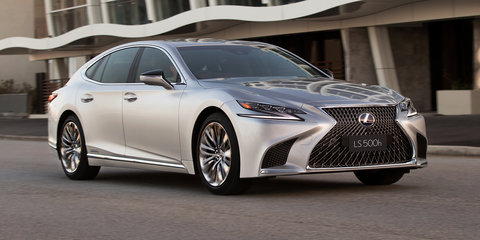 2018 Lexus LS pricing and specs