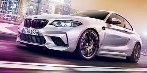2018 BMW M2 Competition leaked