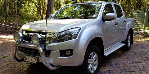 2014 Isuzu D-Max LS-M Hi-Ride (4x4) review Review