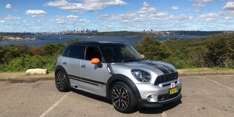 2013 Mini Cooper JCW All4 Countryman review