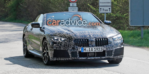 2019 BMW 8 Series Convertible spied again