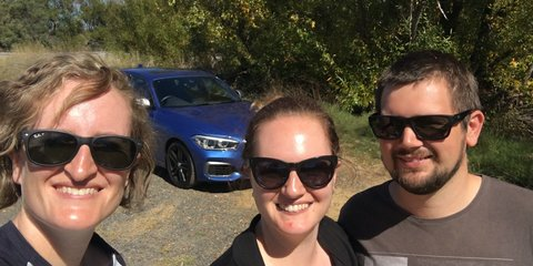 CarAdvice podcast 98: Three-up inthe BMW M140i for 700km!
