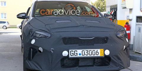 2019 Kia Ceed GT spied