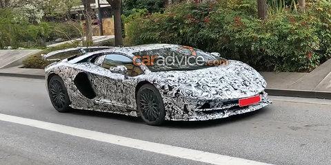 Lamborghini Aventador SV 'Jota' spied