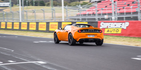 We bought a Lotus and headed to Mount Panorama